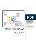 Design for Purpose