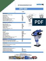 Ficha Técnica SRV660