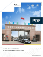 90m³/h Ready Mixed Concrete Plant