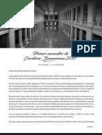 Primer Encuentro Provincial de Escritores Bonaerenses en La Plata