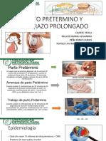 Embarazo Prolongado y Pretermino Final