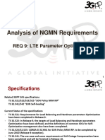 09 - SA5 Analysis of NGMN Requirement 9 - LTE Parameter Optimization