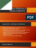 Medidores Elétricos e Potência Elétrica