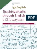 Teaching Maths Through English - A CLIL Approach