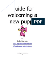 Guide for New Puppy
