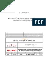 Parametrização Do Relé de Pertubações RT 10 2007 RDP Colinas R0