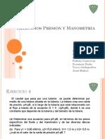 Ejercicios Presión y Manometría Grupo 10