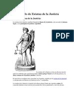 Significado de Estatua de La Justicia