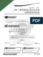 biología moleculas orgánicas