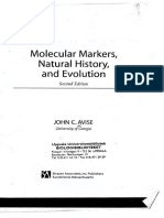 Avise, 2004. Molecular Markers, Natural History, And Evolution