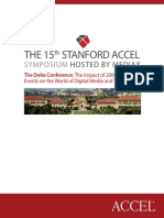 The 15th Stanford Symposium
