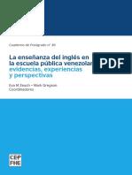 La Enseñanza Del Ingles en La Escuela Publica Venezolana (Abril, 2015=