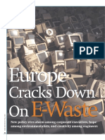 Europe cracks down on e-waste