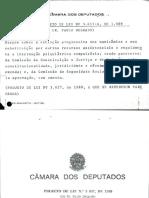 PL 3657-89 (Texto Original)