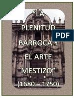 Plenitud Barroca y El Arte Mestizo Ad. Glosario