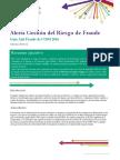 Alerta Gestion Del Riesgo de Fraude
