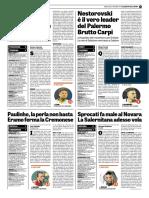 La Gazzetta dello Sport 25-10-2017 - Serie B - Pag.2