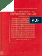 Theory, Measurement and Interpretation of Well Logs Zaki Bassiouni
