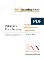 Palladium Price Forecast