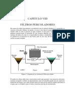 8.1 Filtros Percoladores y Biodiscos