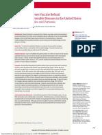 Vacunas Association Between Vaccine Refusal