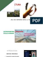 Antropometria, Ergonomia y Programacion Arquitectonica