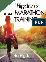 [Higdon, Hal] Hal Higdon's Half Marathon Training
