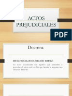 Actos Prejudiciales-TEJEDA E.