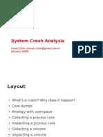 Linux System Crash Analysis