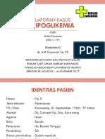 Ppt Hipoglikemi - Dr. Arif