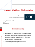 Ziberna - Dynamic Multilevel Blockmodeling - AS2017