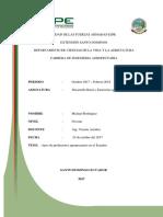Conceptos de Desarrollo Rural y Extension Agropecuaria