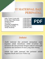 Audit Maternal Dan Perinatal