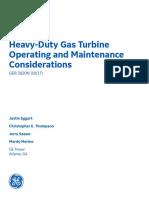 Ger 3620n Heavy Duty Gas Turbine Operationg Maintenance Considerations