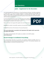 SDCEP Drug Prescribing for Dentistry Update Sept 2014