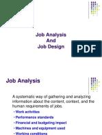 4 Job Analysis and Design