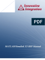 MATLAB and Simulink Manual