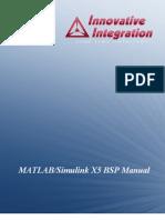 MATLAB and Simulink Manual
