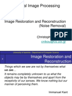 Image Restoration (Noise Removal)