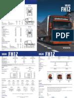 Catalogo Camion Fh12 Volvo Especificaciones Tecnicas Dimensiones Cabina Pesos Modificaciones Motor Caja Cambios