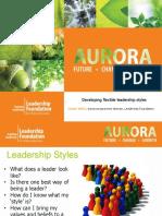 3 6. Ginnie Willis - Aurora Conference - Leadership Styles