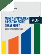 Position Sizing Cheat Sheet