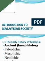 Malay Society