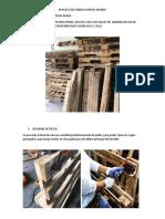 Proceso de Fabricacion de Mueble de Pallets