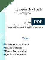 Dllo Sostenible y Huella Ecologica
