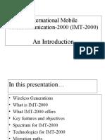 international mobile telecommunication