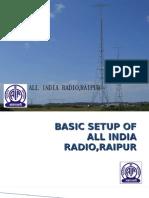 Basic setup of all india radio