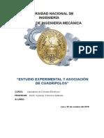 Estudio Experimental y Asociación de Cuadripolos