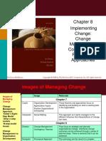 Ch08 Managing Organizational Change