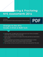 Administering  Proctoring NYS 3-8 Assessments 2016 NEW2.pptx